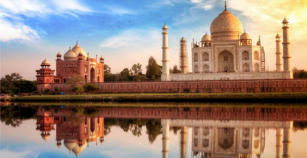 You can fly from Montreal to New Delhi, India for under $600 this winter