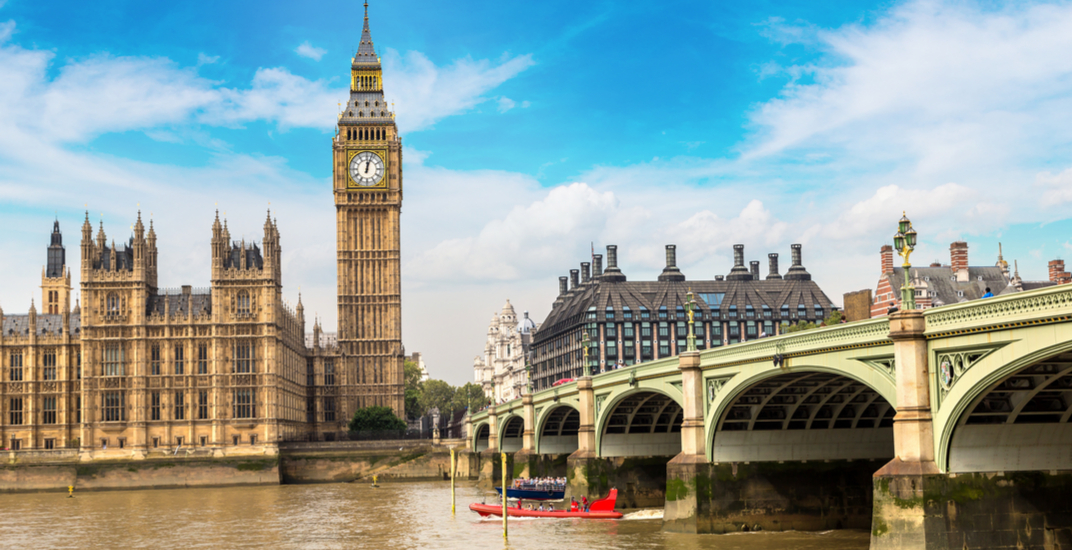 You can fly from Vancouver to London for under $450 roundtrip this spring