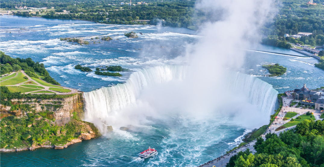 You can take the train from Toronto to Niagara for just $17 right now