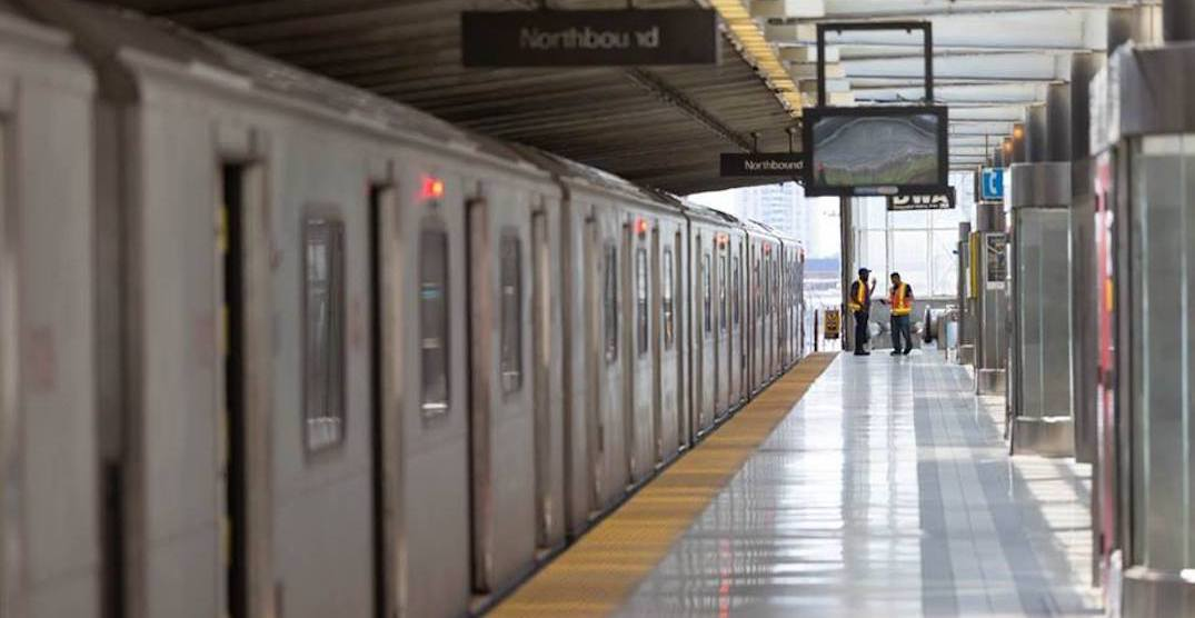 Portions of the TTC will have no service throughout the weekend