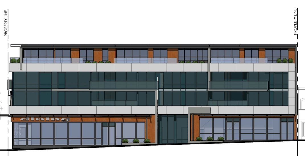 Residential and retail building proposed for 41st Avenue in Kerrisdale