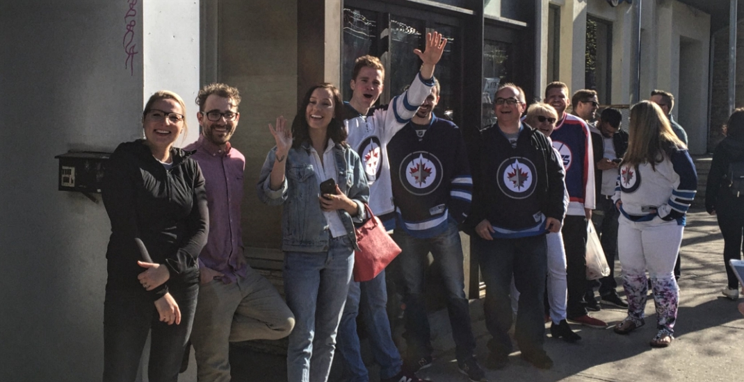 This Toronto bar is a hub for diehard Winnipeg Jets hockey fans
