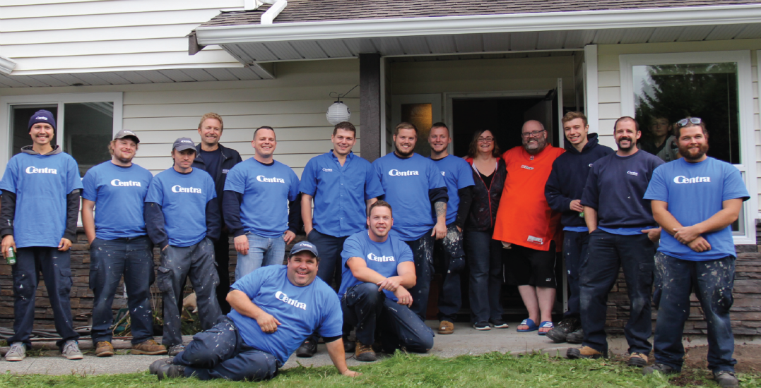 The Centra Cares Foundation will give new windows (valued at $15,000) to a BC family