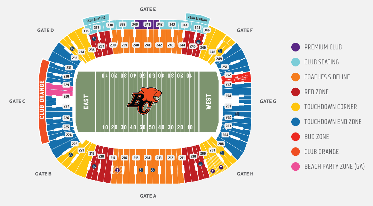 201081d2 BC Lions unveil new $20 general admission 'party' section tickets ...