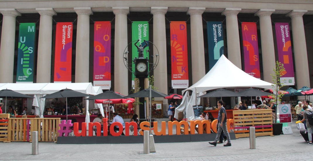 Union Summer market returns to Toronto this July