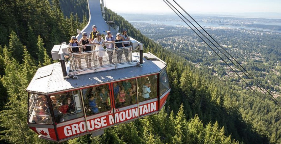 Grouse Mountain kicks off its summer-season activities this long weekend