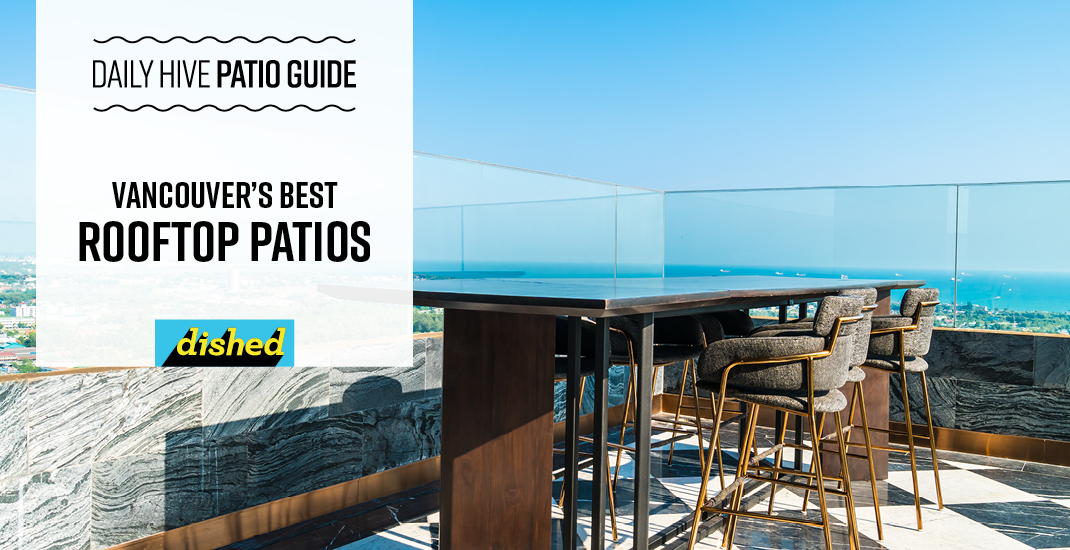 Best rooftop patios in Vancouver