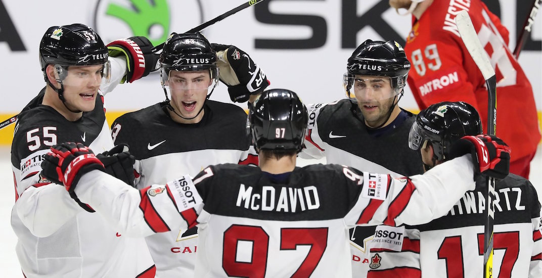 Canada beats Russia in overtime of World Championships quarter-final