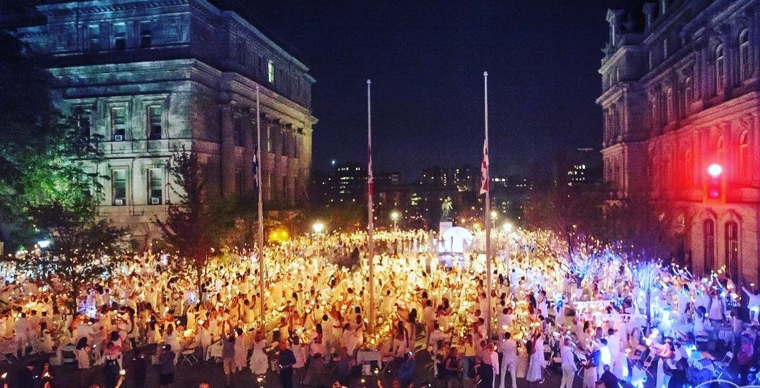Dîner en Blanc Montreal returns for another spectacular evening this summer