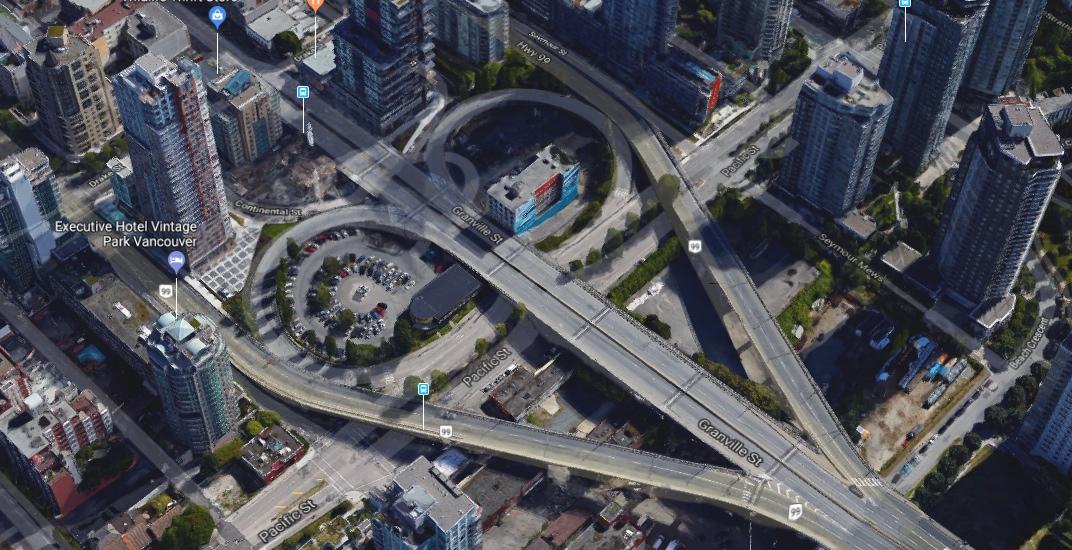 Granville bridge loops vancouver 1