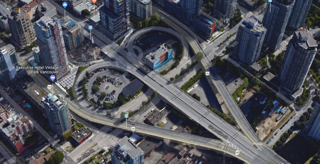 Vancouver seeking redevelopment interest for Granville Bridge loops