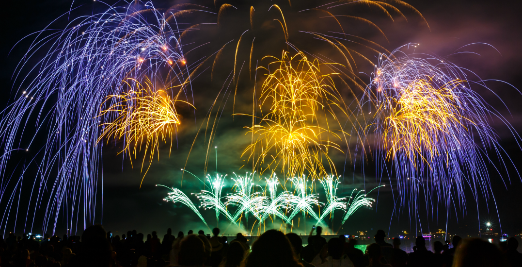 See the Honda Celebration of Light from the YVR Observation Deck with 3 friends (CONTEST)