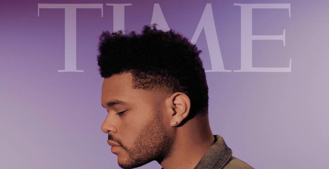 The Weeknd named one of TIME Magazine's 'Next Generation Leaders'