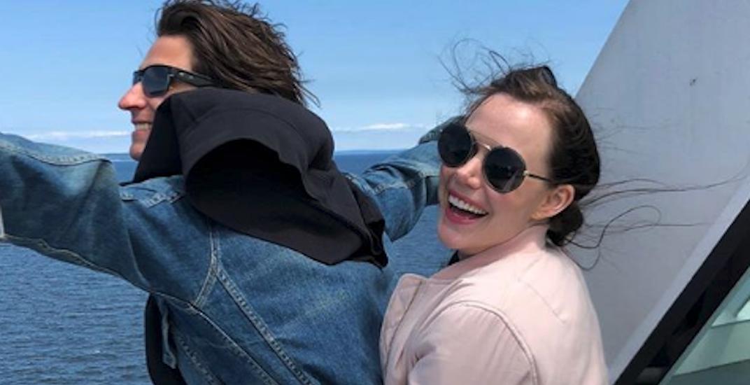 Virtue and Moir recreate famous Titanic scene on BC ferry (PHOTOS)