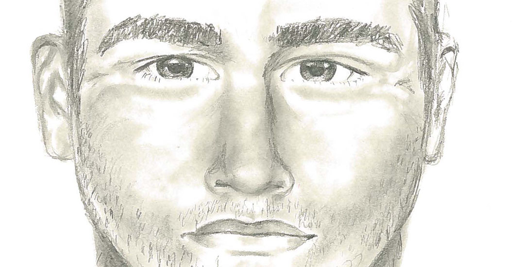 Police release sketch of sexual assault suspect in Surrey (PHOTO)