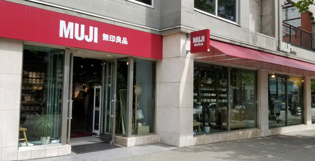 MUJI's flagship store on Robson Street is having an amazing promo event until May 28