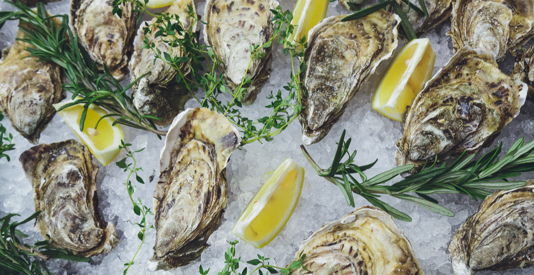 A huge oyster festival is happening in Montreal this month