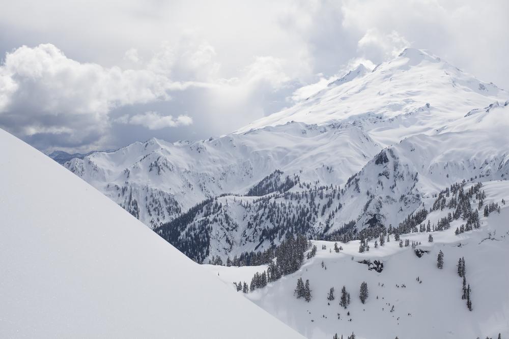 Mount Baker snow