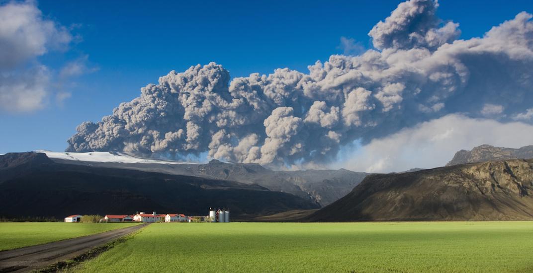Mount Eyjafjallajokull Iceland