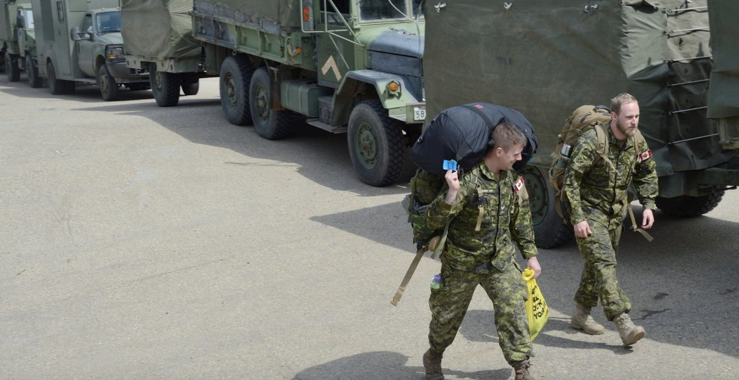 Canadian Armed Forces arrive in BC to bolster flood relief operations