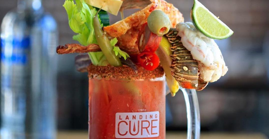 This ridiculous caesar will be landing in Calgary next month