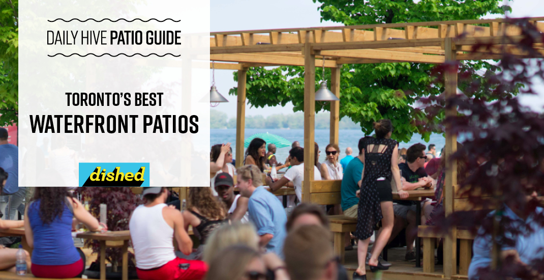 Toronto's best waterfront patios (MAP)