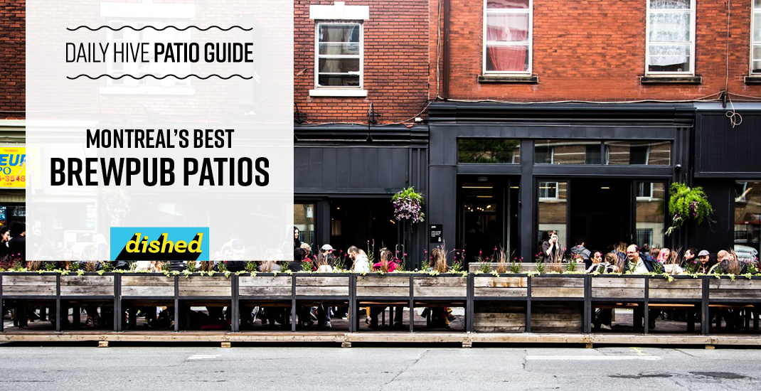 Montreal's best brewpubs and craft beer bars with patios