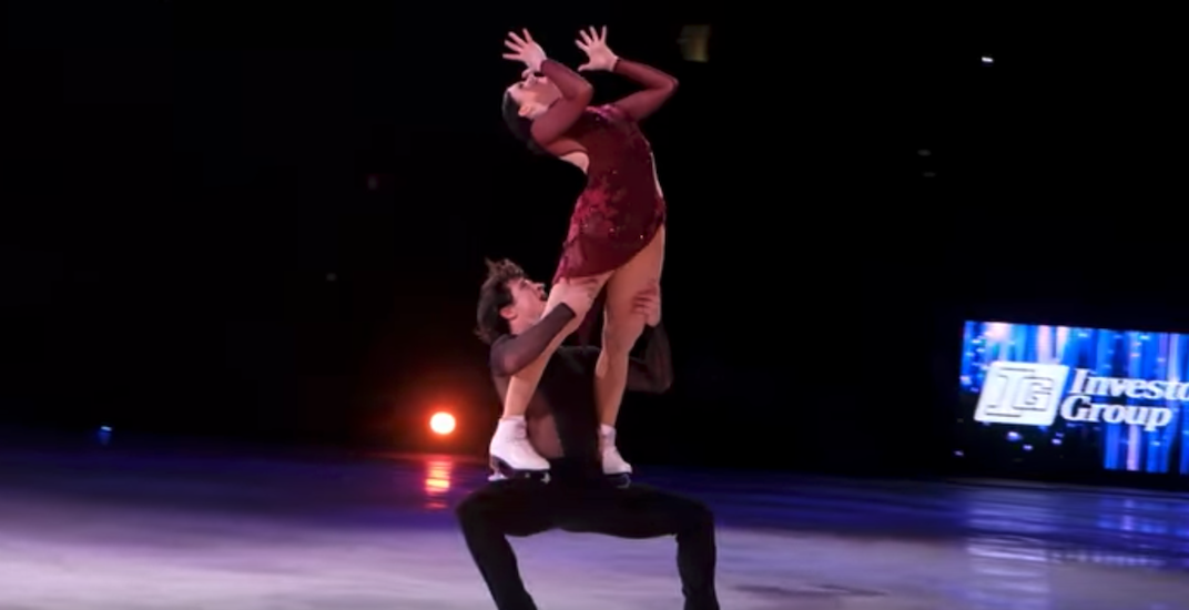 Tessa and Scott heat up ice with 'the dance' in Vancouver (VIDEOS)