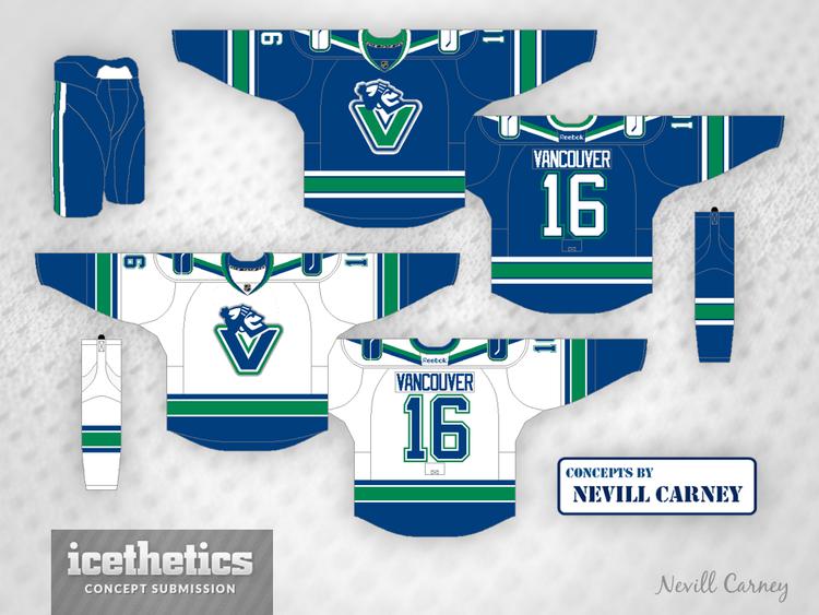 canucks jersey concept