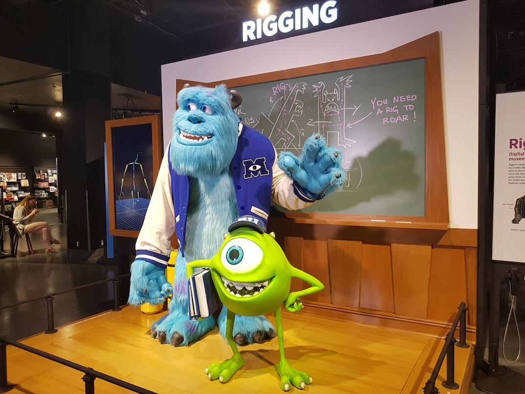 Science Behind Pixar Science World