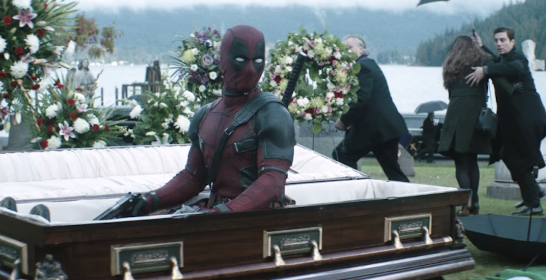 Vancouver-filmed Deadpool 2 earns US$125 million opening weekend