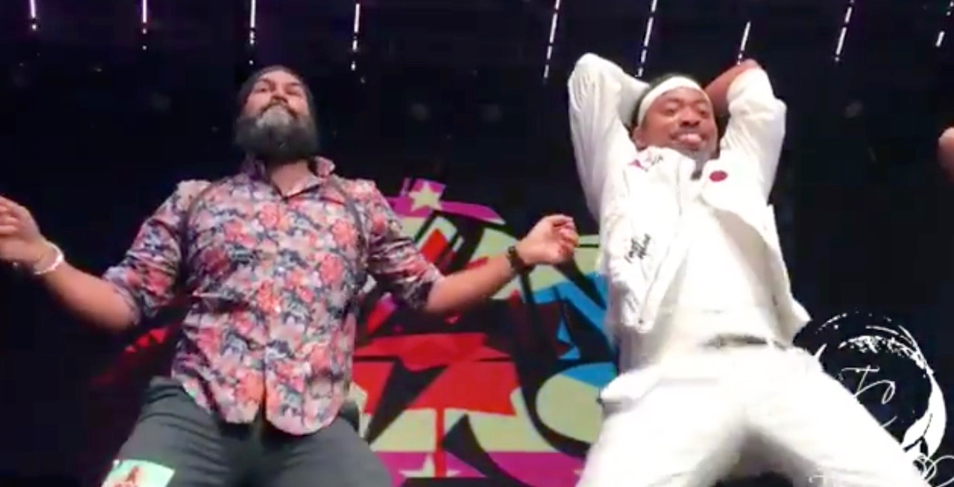 Jagmeet Singh shows off saucy dance moves in Toronto over the weekend (VIDEO)