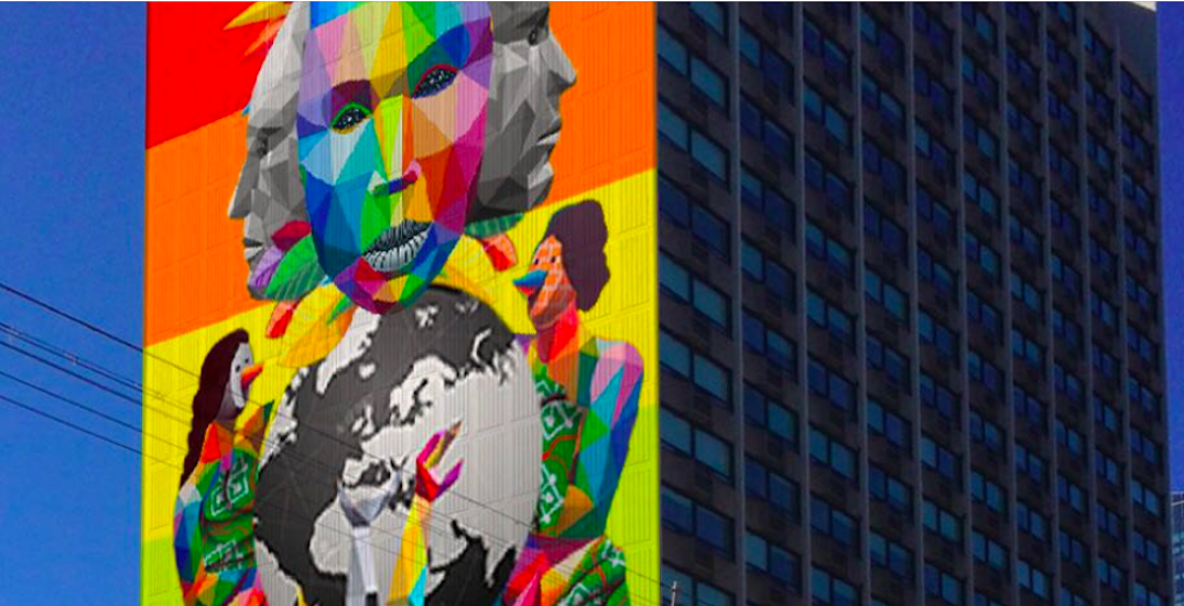The corner of Carlton and Jarvis is getting a giant new mural (PHOTO)