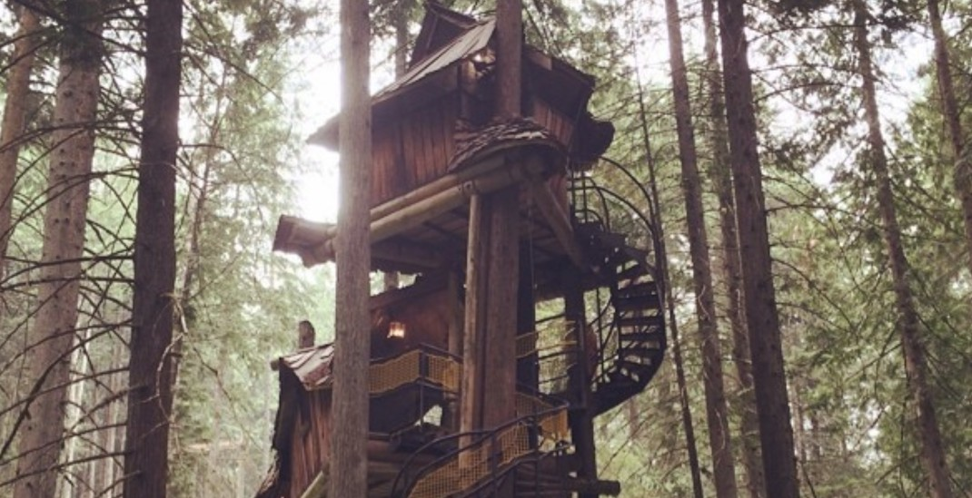 This giant treehouse in BC is straight out of your childhood dreams (PHOTOS)