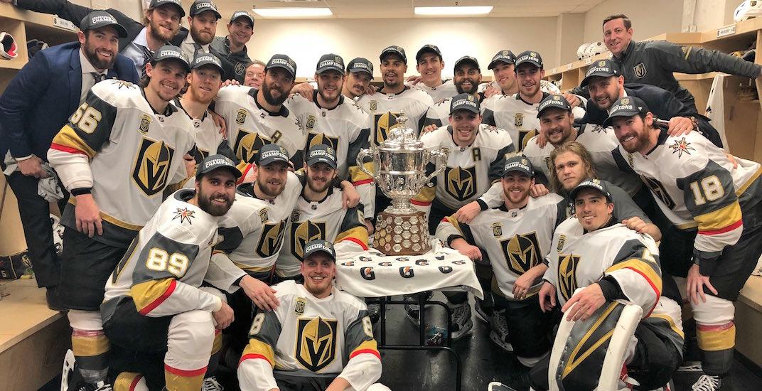 Vegas golden knights campbell bowl