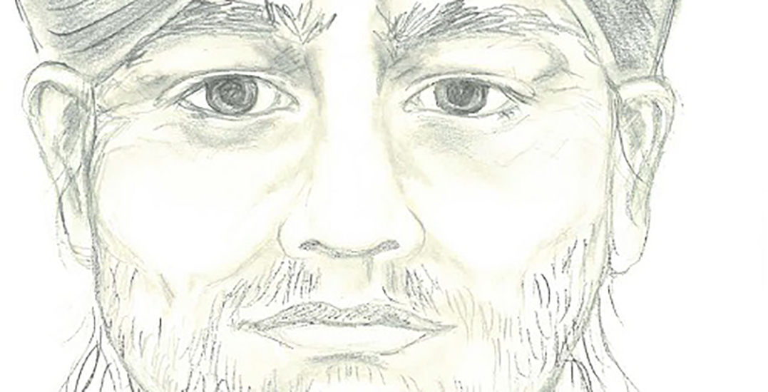Police release sketch of suspicious person who approached a child in Surrey