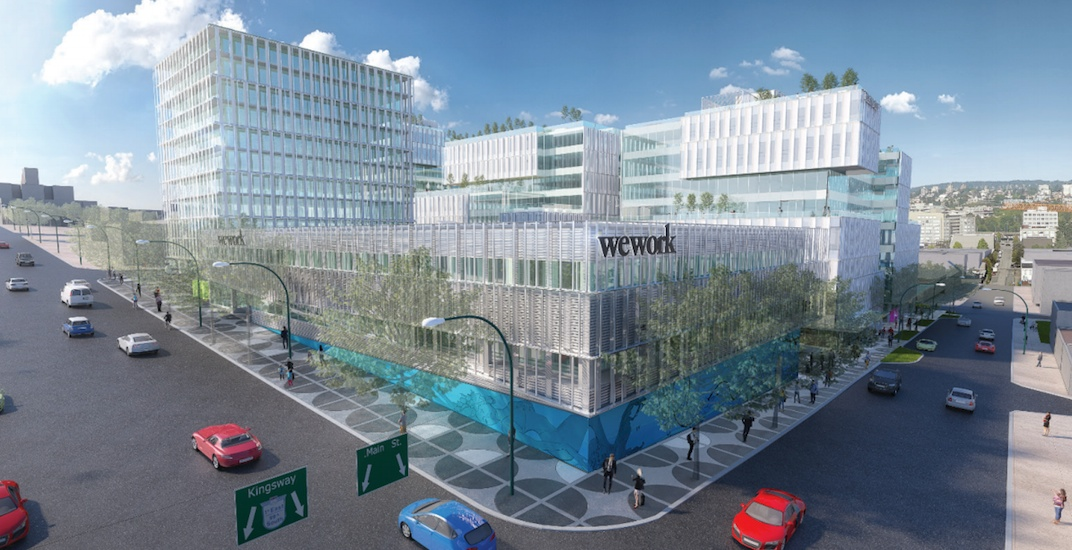 WeWork opening at new Main Alley tech hub campus in Mount Pleasant