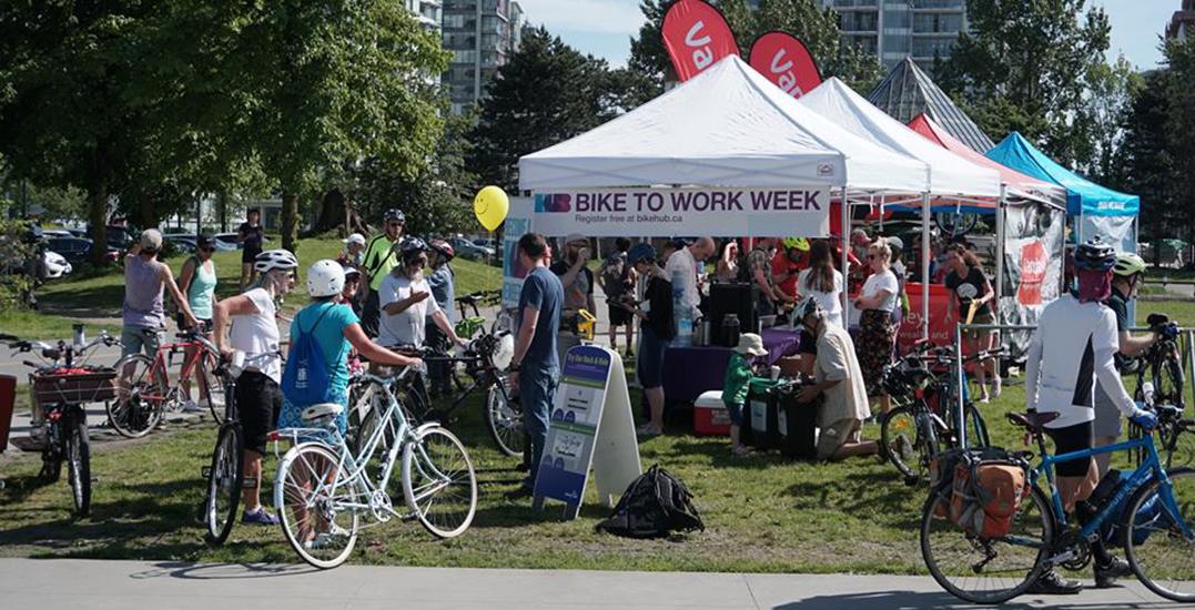 Bike to Work Week returns to Metro Vancouver next week