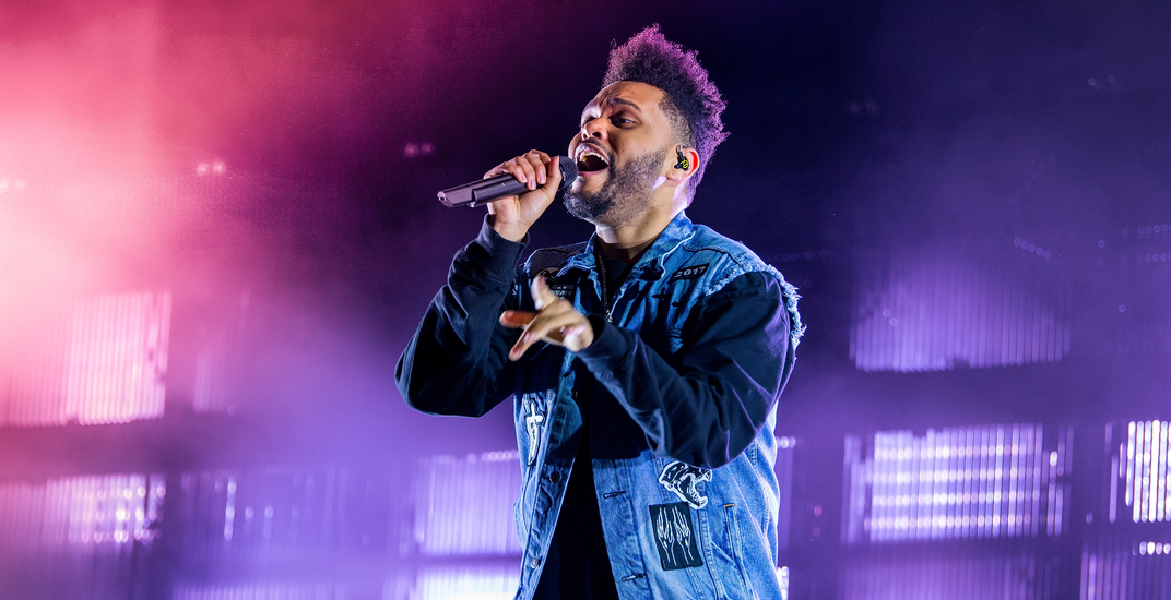 The Weeknd is playing a concert at the Bell Centre on July 2