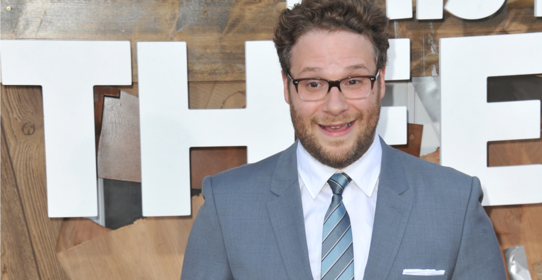 Someone replaced the Friend's laugh track with Seth Rogen's laugh and it's everything