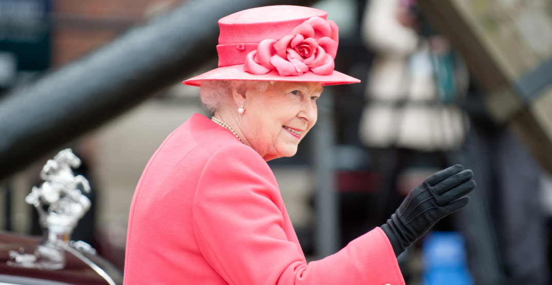 You can buy the Queen's autograph at a Vancouver auction this weekend