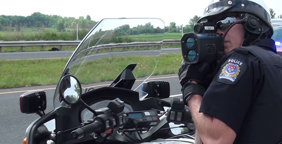 Montreal police catch two drivers going 70 km/h over the speed limit