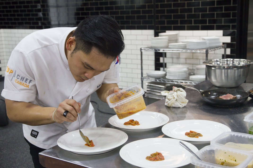 Top Chef Canada finalists