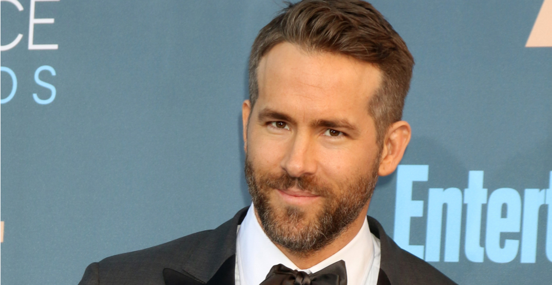 Petition launched to name a Vancouver street after Ryan Reynolds