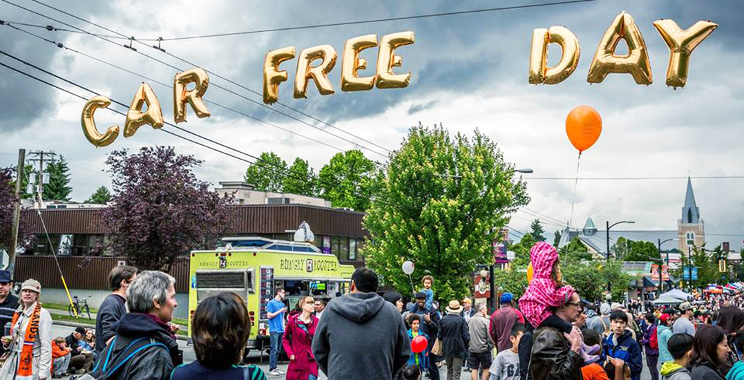 Here are the official festival dates for Car Free Day in Vancouver