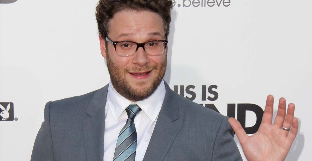 It's official: Seth Rogen to voice Vancouver's SkyTrain announcements
