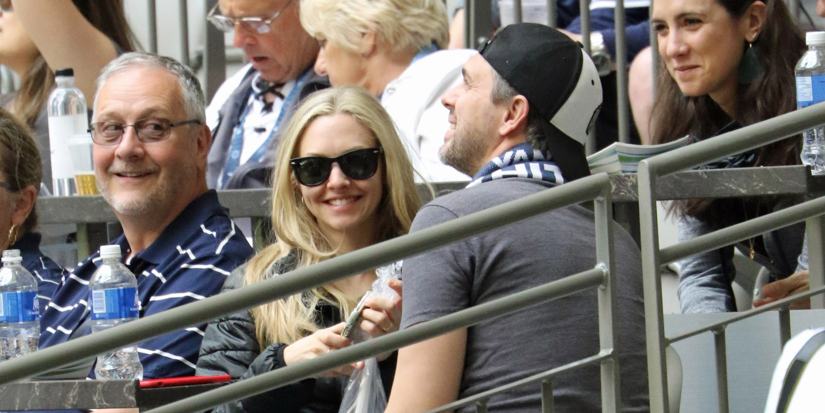 Amanda Seyfried spotted enjoying date night at Vancouver Whitecaps game (PHOTOS)