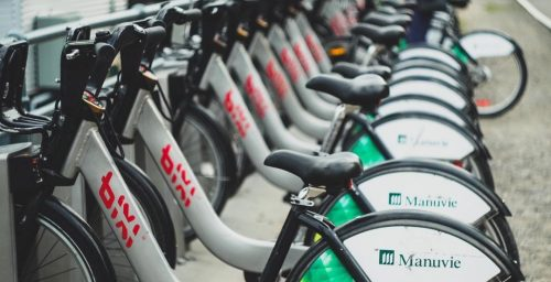 bixi bikes bike sharing
