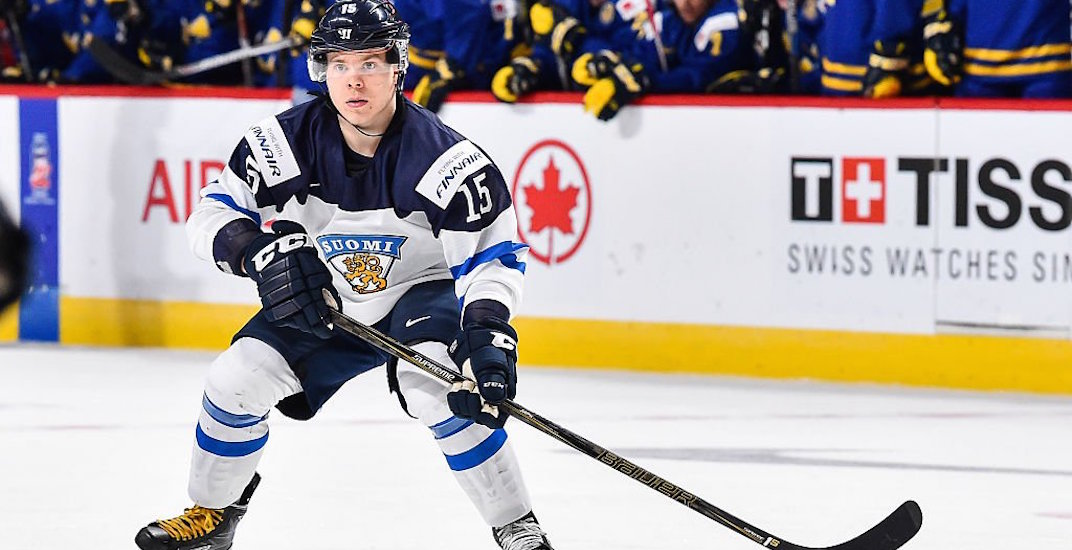 Canucks sign Finnish league's top rookie Petrus Palmu to 3-year contract