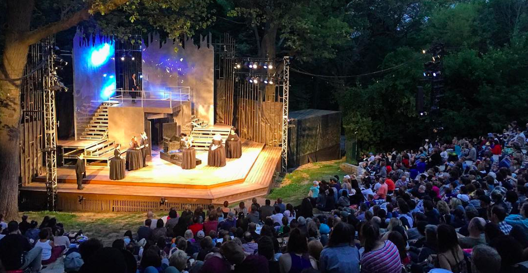 You can watch Shakespeare live in High Park this month